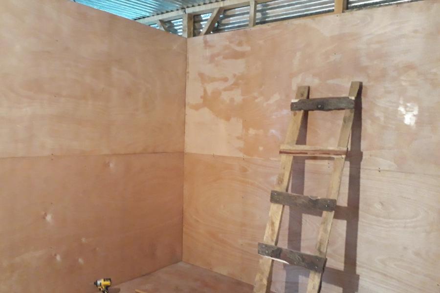 Innenausstattung mit Holz