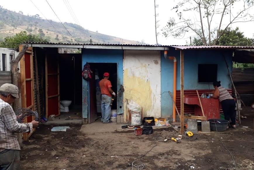 Umbau bei Heidys zu Hause